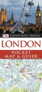 DK Eyewitness Pocket Map and Guide: London