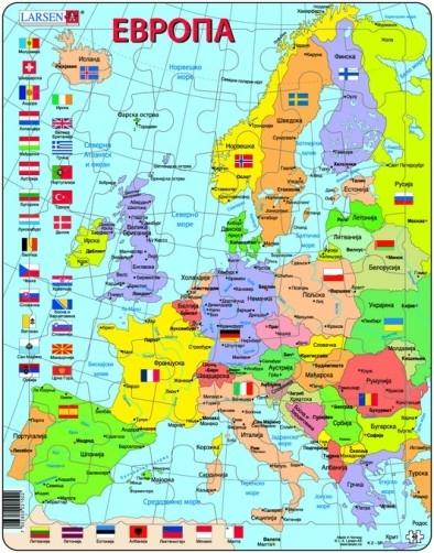 Karta Evrope Sa Gradovima Karta