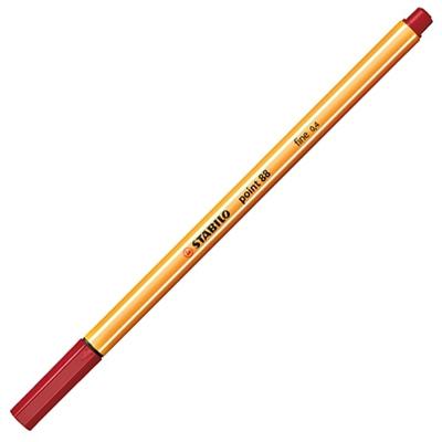 Stabilo point 88 red deep lajner