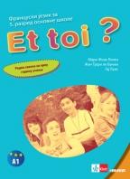 Et toi? 1, francuski jezik, radna sveska za 5. razred osnovne škole