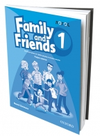 FAMILY AND FRIENDS 1, ENGLESKI JEZIK, RADNA SVESKA ZA 3. RAZRED OSNOVNE ŠKOLE