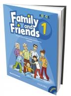 FAMILY AND FRIENDS 1, ENGLESKI JEZIK, UDŽBENIK I CD ZA 3. RAZRED OSNOVNE ŠKOLE