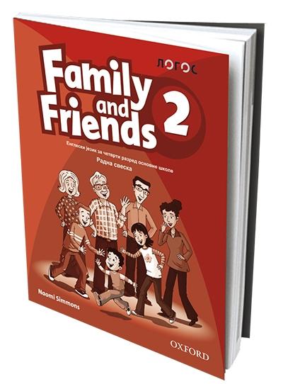 FAMILY AND FRIENDS 2, ENGLESKI JEZIK, RADNA SVESKA ZA 4. RAZRED OSNOVNE ŠKOLE