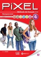 Pixel 4, francuski jezik, udžbenik za 8. razred osnovne škole
