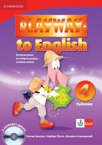 PLAYWAY TO ENGLISH 4, ENGLESKI JEZIK, UDŽBENIK ZA 4. RAZRED OSNOVNE ŠKOLE