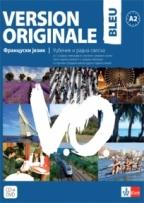 Version Originale Bleu, francuski jezik, udžbenik i radna sveska za 1. i 2. godinu srednjih škola
