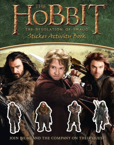 STICKER ACTIVITY BOOK (THE HOBBIT: THE DESOLATION OF SMAUG)