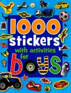 1001 Srickers With Activities For Boys