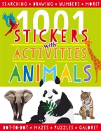 1001 Stickers: Animals