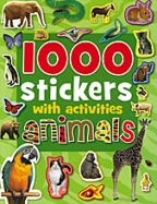 1001 Stickers With Activities: Animals