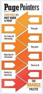 Page pointers Orange