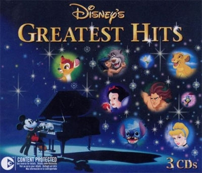 DISNEY'S GREATEST HITS (3-CD BOX)