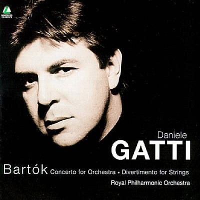 BARTOK: CONCERTO FOR ORCHESTRA; DIVERTIMENTO