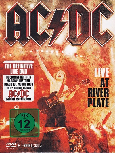 LIVE AT RIVER PLATE (DVD + T-SHIRT)