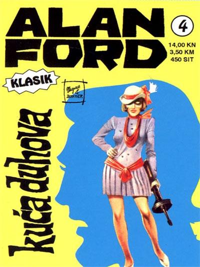 Alan Ford klasik 4: Kuća duhova