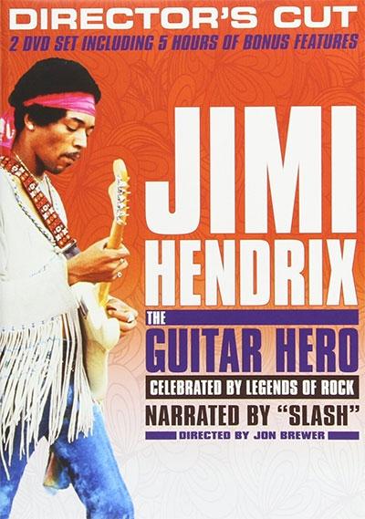 JIMI HENDRIX: THE GUITAR HERO (DVD)