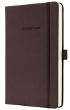 notebook conceptum coffe brown a6