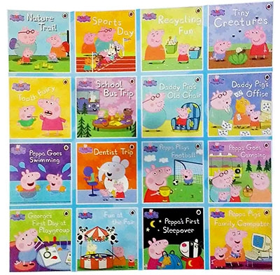 Peppa Pig Tales Collection 16 Books