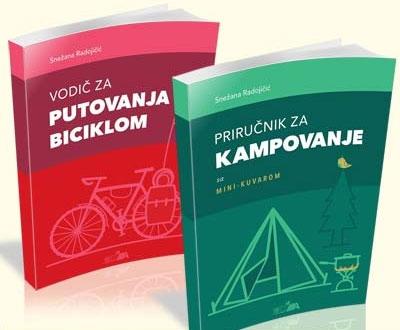 Vodič za putovanja biciklom i priručnik za kampovanje sa mini-kuvarom (paket)
