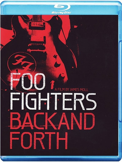 Back And Forth Blu Ray Dvd Foo Fighters Delfi