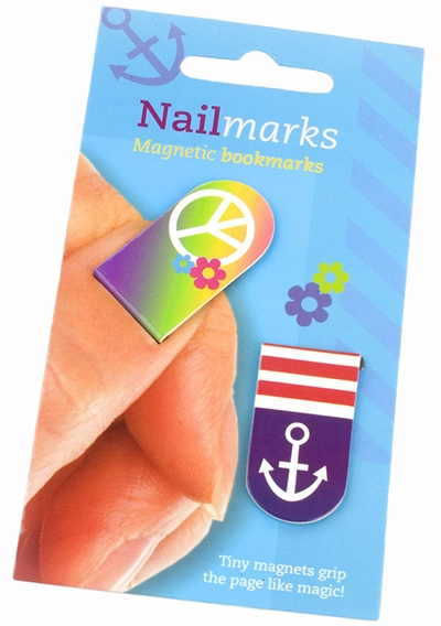 Bookmarker Nailmarks Cool