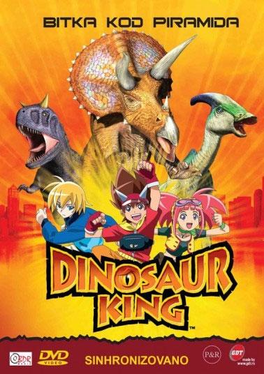 Dinosaur king 3 - Bitka kod piramida