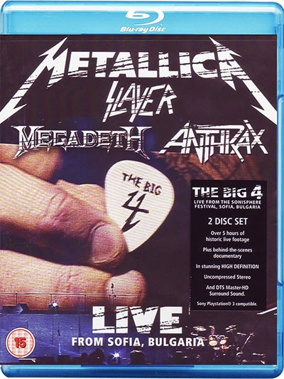 LIVE FROM SOFIA (DVD)