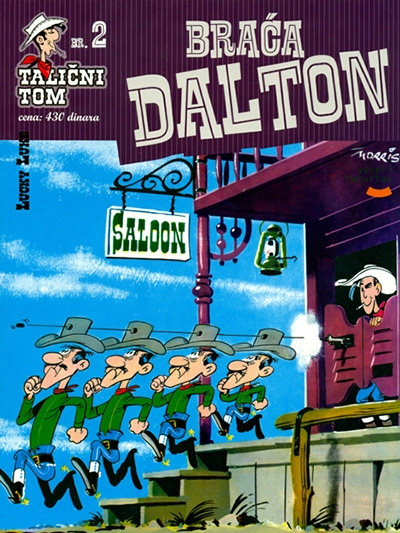 TALIČNI TOM 2: Braća Dalton