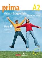 Prima 4, A2, nemački jezik, udžbenik za 8. razred osnovne škole