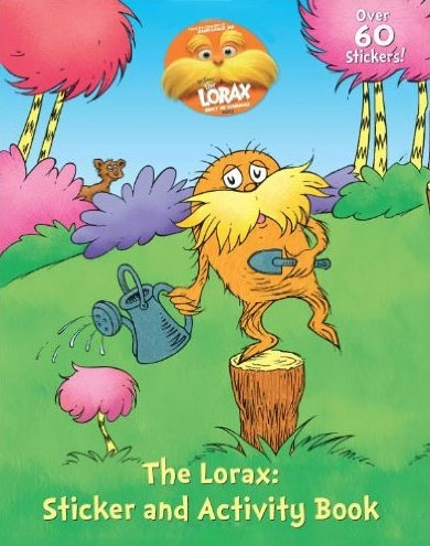 THE LORAX A TREE FOR ME - STICKER ACTIVITY BOOK