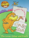 the lorax doodle book - colour and create