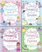MY DOLLY DRESSING BOOKS COLLECTION 4 BOOKS SET