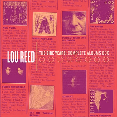 THE SIRE YEARS: COMPLETE ALBUMS BOX