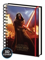 Agenda - Star Wars Episode VII, Kylo Ren - A5 3D Cover