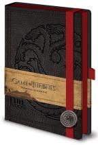 Agenda - Game of Thrones, Targayan - A5 Premium