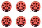 Bag Clips Ladybug, Set of 6