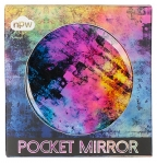 double sided compact mirror - galaxy