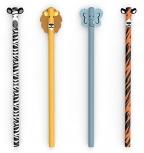 Kikkerland Safari Pencils Set Of 4