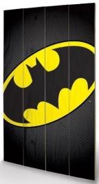 Large Wooden Wallart - Batman Symbol