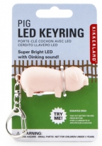 Piggy Led Key Chain