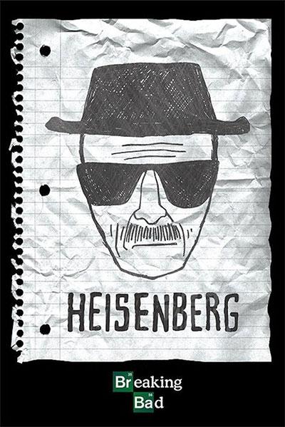 Poster - Breaking Bad, Heisenberg Wanted