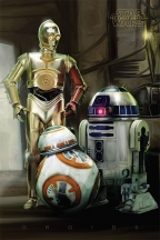 Poster - Star Wars Episode VII, Droids