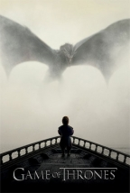 Poster - Game of Thrones, A Lion & A Dragon