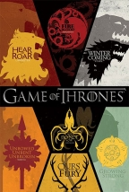 Poster - Game of Thrones, Sigils
