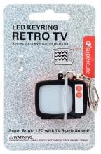 Tv Static Led Keychain