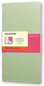 Moleskine - Chapters Journal, Mist Green, Large