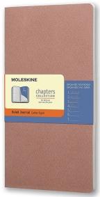 Moleskine - Chapters Journal, Old Rose, Large