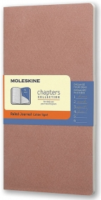 Moleskine - Chapters Journal, Old Rose, Medium