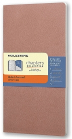 Moleskine - Chapters Journal, Old Rose