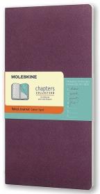 Moleskine - Chapters Journal, Plum Purple, Large